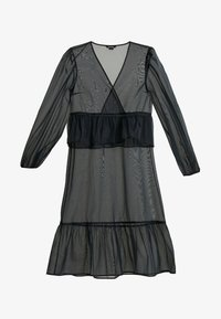 Monki - JENNIFER DRESS - Freizeitkleid - organza black - 5
