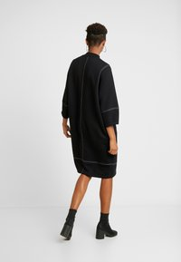 Monki - KARIN DRESS - Jersey dress - black/white - 3