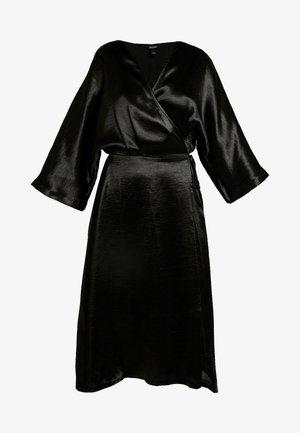 LOLLO DRESS - Robe d'été - crinkled black