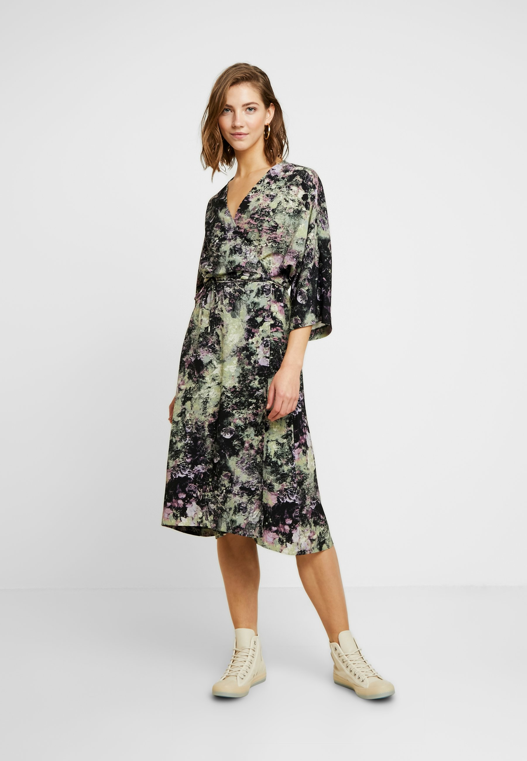 Monki Lollo Dress - Korte Jurk Multi-coloured 6apUL97Q