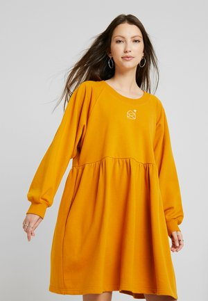 MALIN DRESS - Day dress - yellow dark