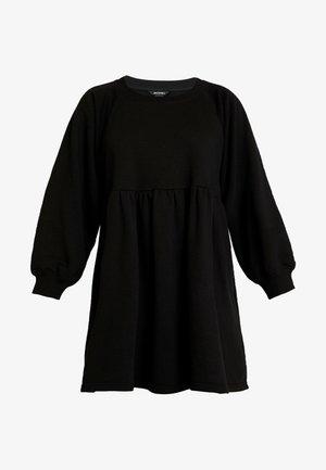 MALIN DRESS - Freizeitkleid - black dark unique