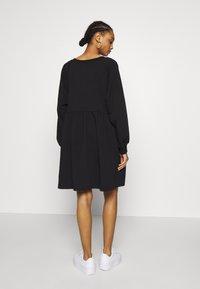 Monki - MALIN DRESS - Denní šaty - black - 2