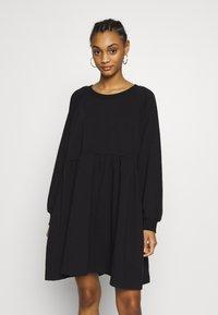 Monki - MALIN DRESS - Denní šaty - black - 0