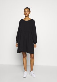 Monki - MALIN DRESS - Kjole - black - 1