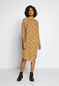 Monki - MARIA DRESS - Jersey dress - yellow dark - 0