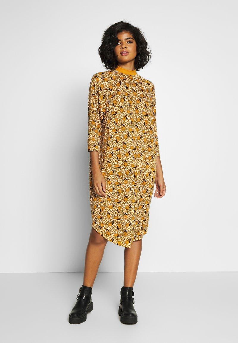 Monki - MARIA DRESS - Jersey dress - yellow dark