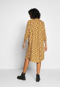 Monki - MARIA DRESS - Jersey dress - yellow dark - 2