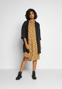 Monki - MARIA DRESS - Jersey dress - yellow dark - 1