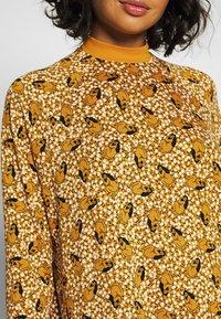 Monki - MARIA DRESS - Jersey dress - yellow dark - 5