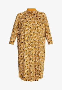 Monki - MARIA DRESS - Jersey dress - yellow dark - 4