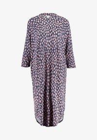 Monki - MARIA DRESS - Jerseykjoler - blue dark - 6