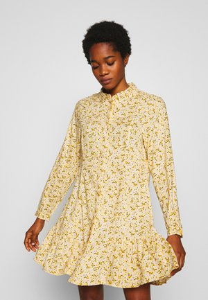 MIRANDA DRESS ASIA - Skjortekjole - yellow