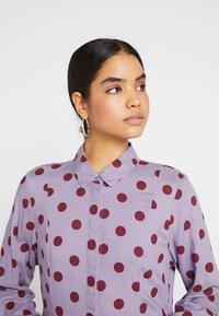 Monki - MIRANDA DRESS ASIA - Skjortekjole - lilac purple - 5