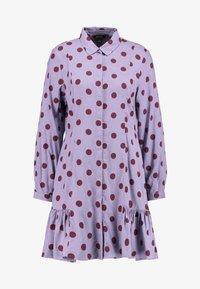 Monki - MIRANDA DRESS ASIA - Skjortekjole - lilac purple - 4