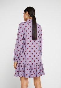 Monki - MIRANDA DRESS ASIA - Skjortekjole - lilac purple - 3