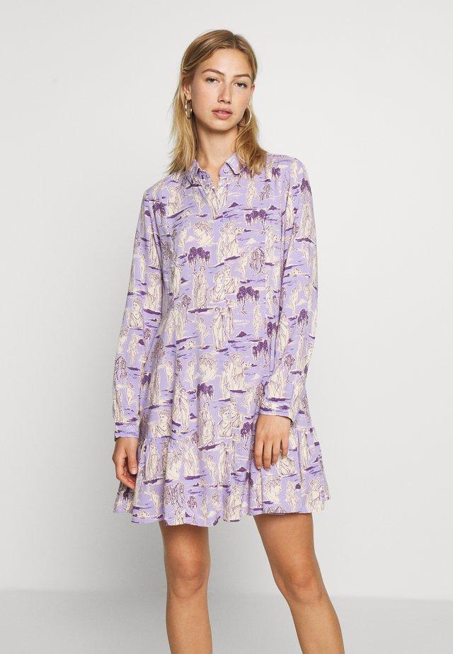 MIRANDA DRESS ASIA - Shirt dress - lilac