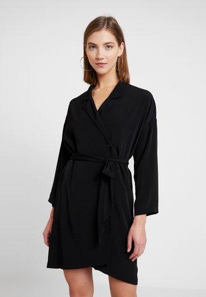 NIX DRESS - Sukienka koszulowa - black