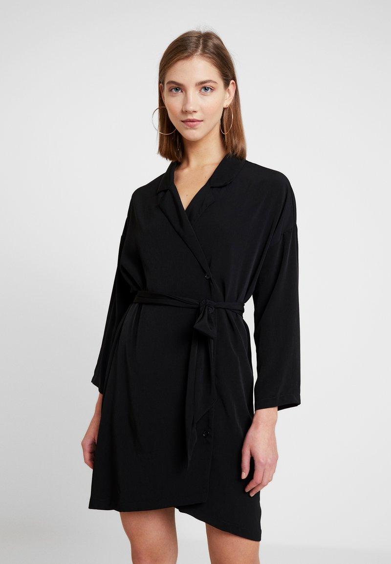 Monki - NIX DRESS - Shirt dress - black