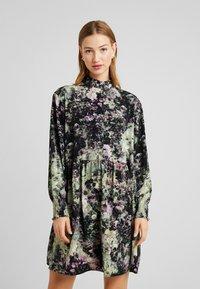Monki - RIRI DRESS - Day dress - multi-coloured - 0