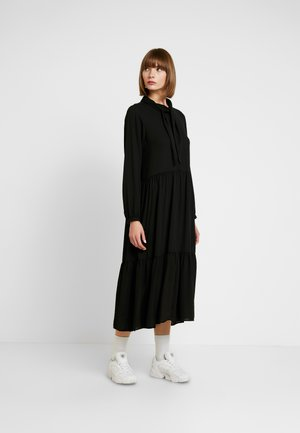 ROZ DRESS - Robe longue - solid black
