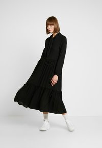 Monki - ROZ DRESS - Maxikjoler - solid black - 1