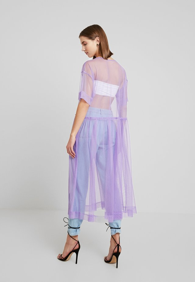 SILVIA DRESS - Freizeitkleid - tulle purple