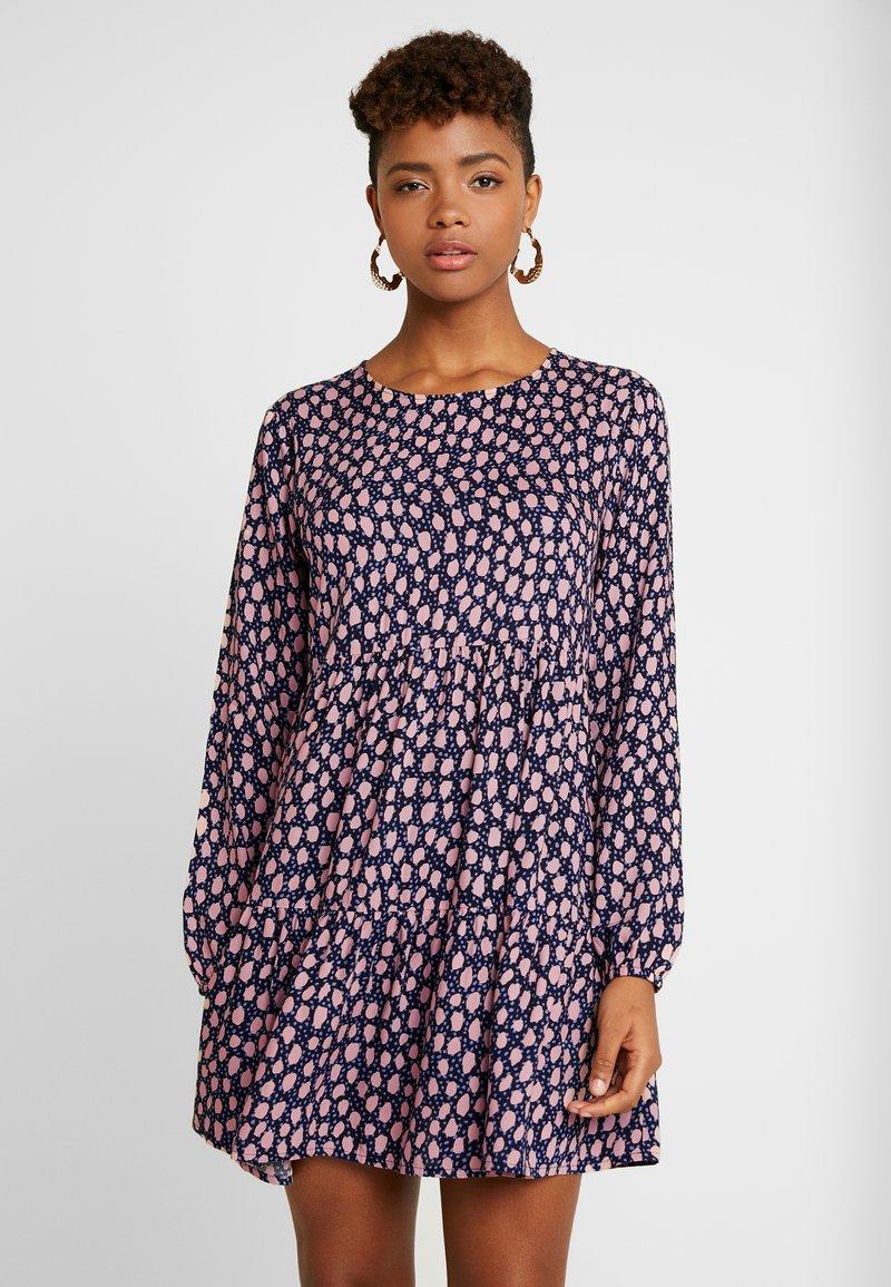 Monki - TACY DRESS - Freizeitkleid - dark blue