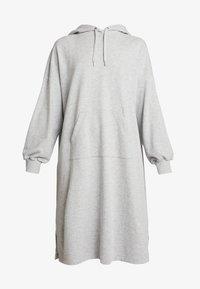 Monki - ZANDRA DRESS - Korte jurk - grey melange - 4