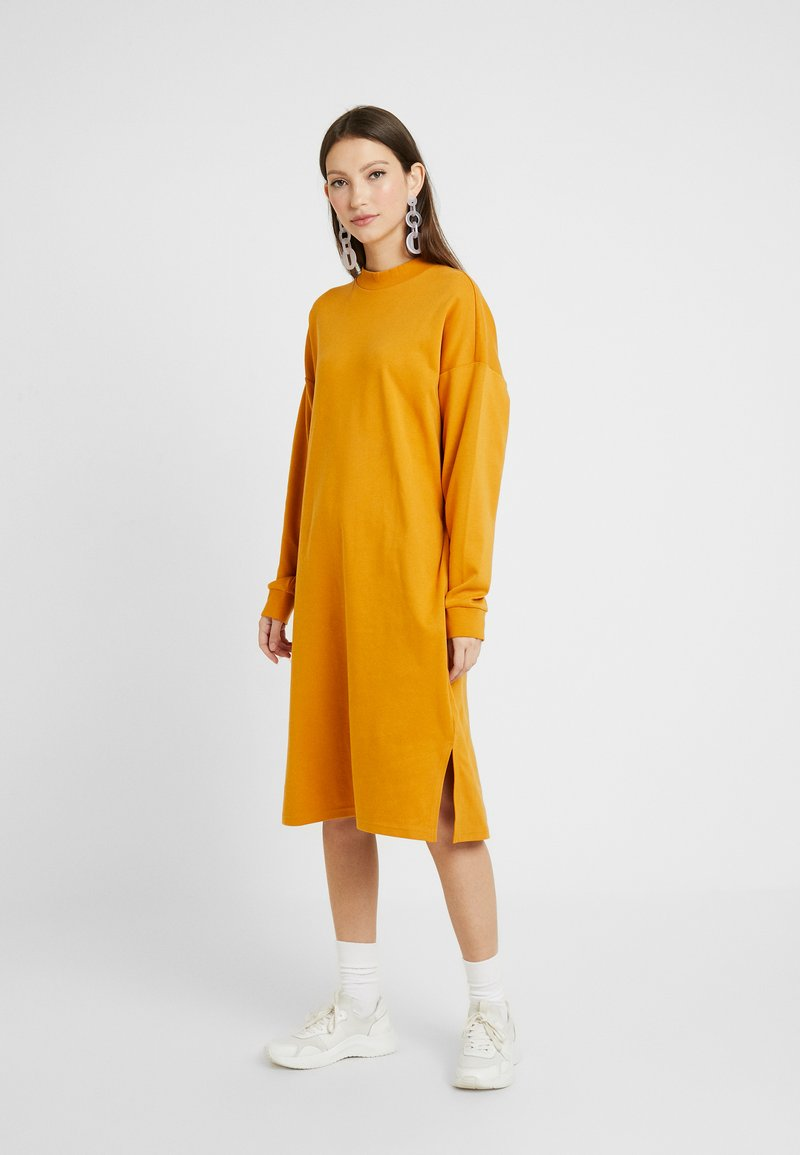 Monki - MINDY DRESS - Jersey dress - yellow dark