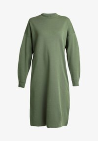 Monki - MINDY DRESS - Jerseykjole - sage green - 4