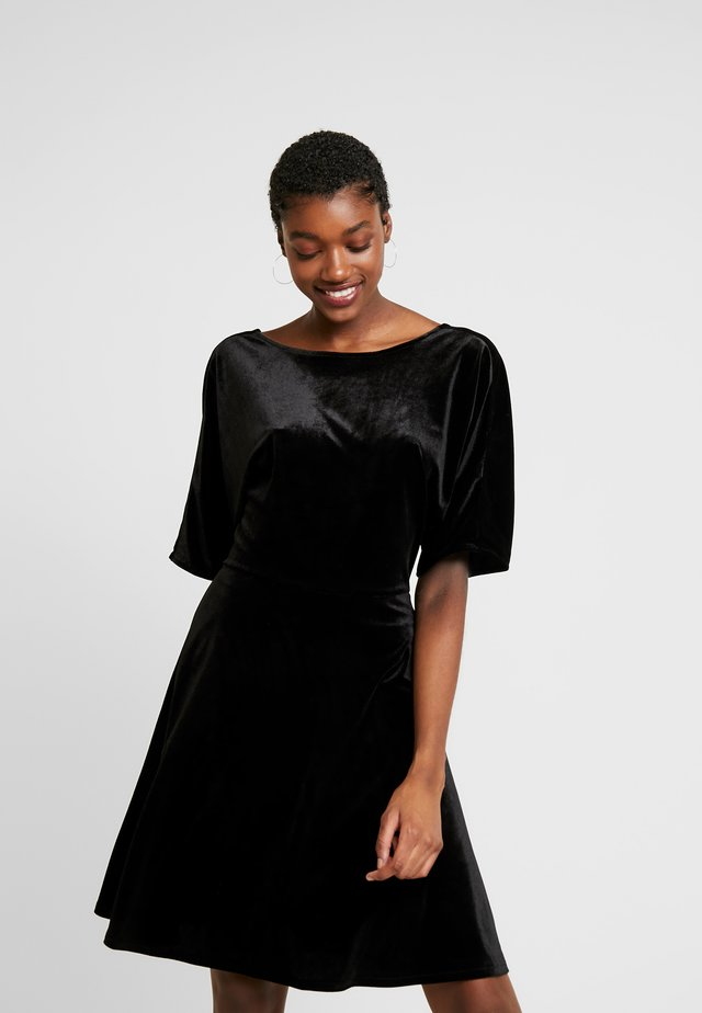 ADALIA DRESS - Sukienka koktajlowa - black topaz