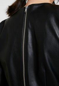 Monki - CHERIE DRESS - Freizeitkleid - black - 6