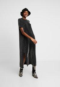 Monki - ISABELLA DRESS - Robe en jersey - black - 2