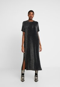 Monki - ISABELLA DRESS - Robe en jersey - black - 0