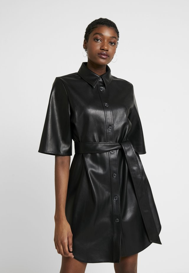 KARLA DRESS - Blusenkleid - black