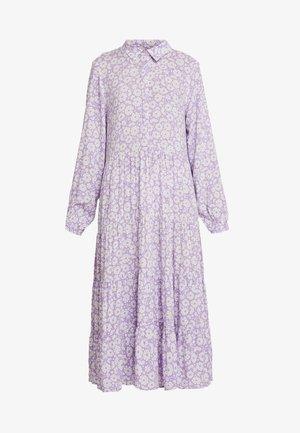FIONA DRESS - Day dress - lilac/white