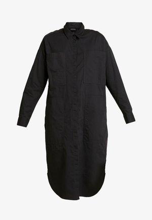 JAY POCKET DRESS - Košilové šaty - grey