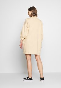 Monki - REY DRESS - Kjole - beige - 2