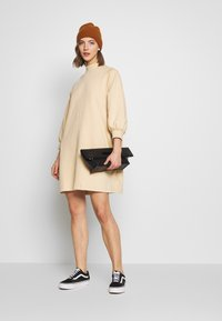 Monki - REY DRESS - Kjole - beige - 1
