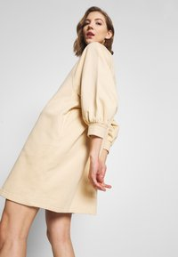 Monki - REY DRESS - Kjole - beige - 4