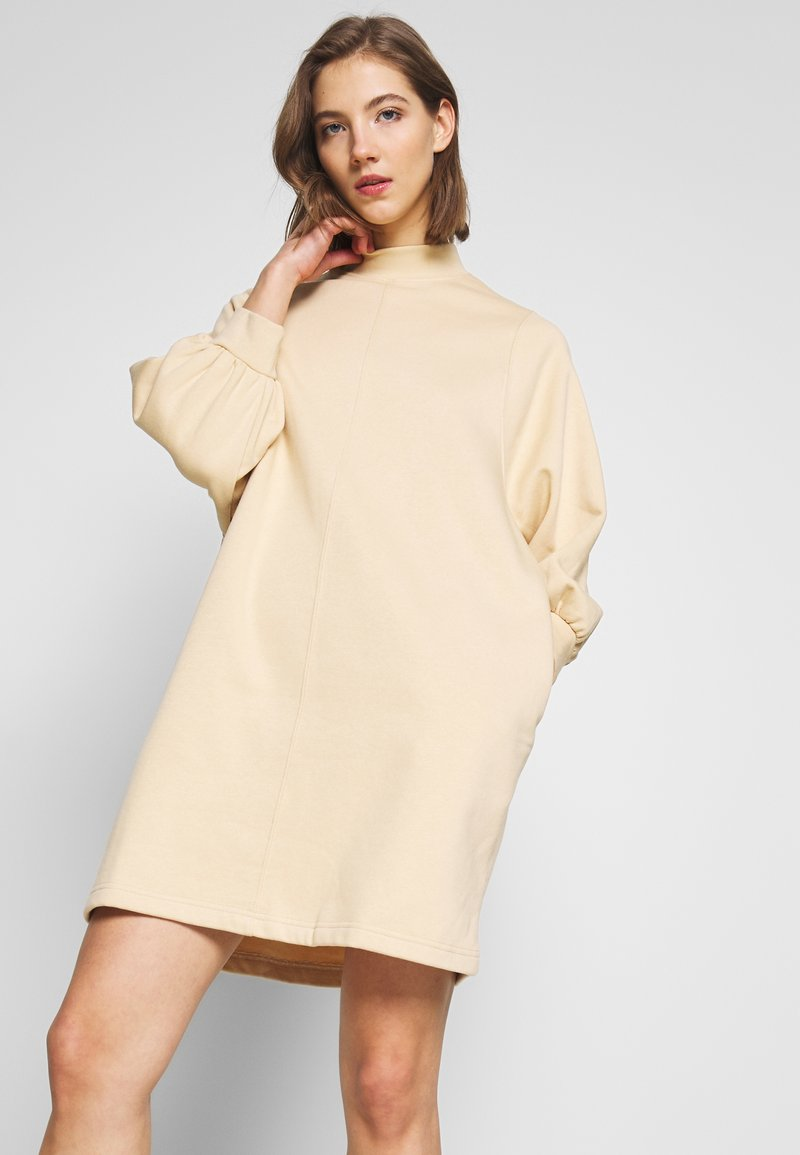 Monki - REY DRESS - Kjole - beige