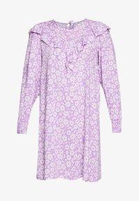 Monki - SARY DRESS - Kjole - lilac and white flowers - 4