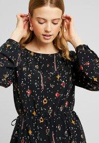 Monki - TERES DRESS - Day dress - black dark - 5