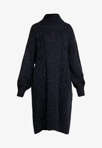 Monki - VALDA DRESS - Robe pull - blue dark - 4