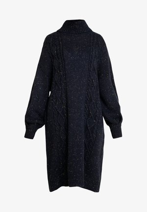 VALDA DRESS - Robe pull - blue dark