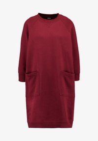Monki - YING DRESS - Vapaa-ajan mekko - red - 5