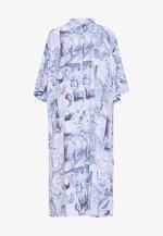 BEA DRESS - Shirt dress - blue dark