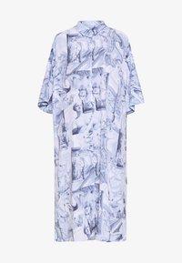 Monki - BEA DRESS - Košilové šaty - blue dark - 4
