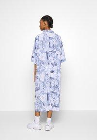 Monki - BEA DRESS - Košilové šaty - blue dark - 2